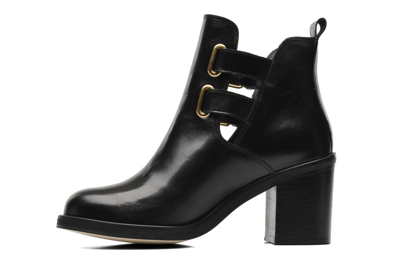 Stiefeletten & Boots Jonak Melville schwarz ansicht von vorne