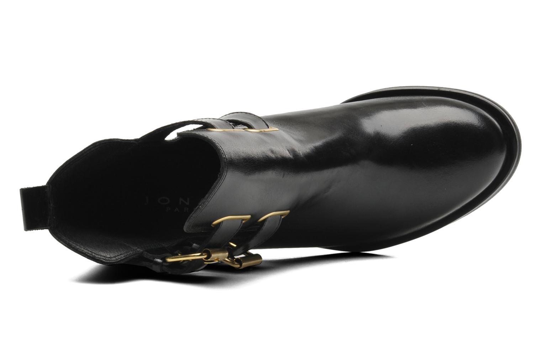 Melville Cuir noir