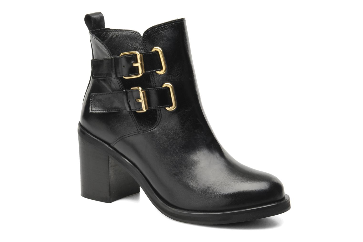 Ankle boots Jonak Melville Black detailed view/ Pair view