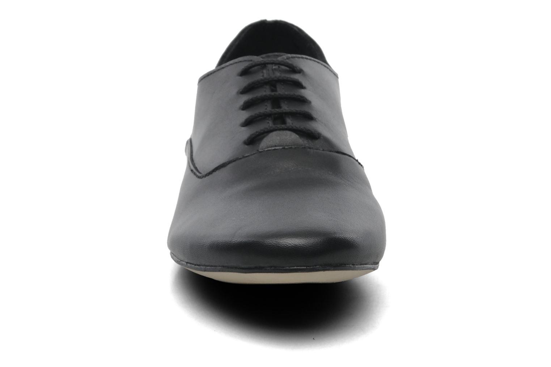 Veterschoenen Jonak Makadam Zwart model