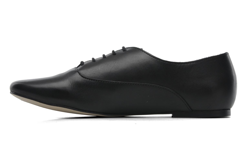 Chaussures à lacets Jonak Makadam Noir vue face