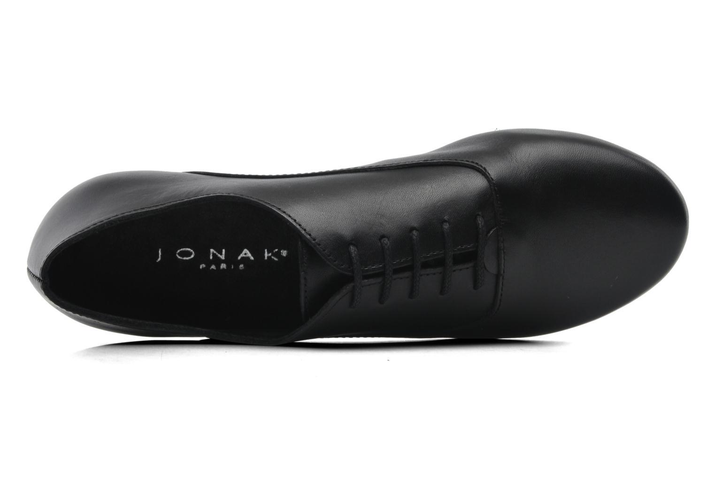 Chaussures à lacets Jonak Makadam Noir vue gauche