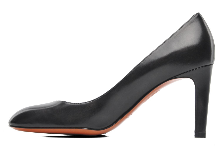 Bottines et boots Santoni Moss 53259 INVISIBLE MAUVAISE REF Noir vue face