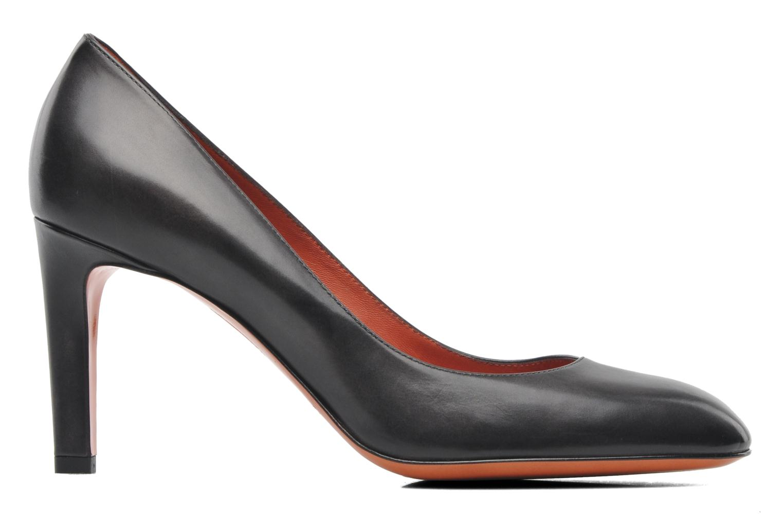Bottines et boots Santoni Moss 53259 INVISIBLE MAUVAISE REF Noir vue derrière