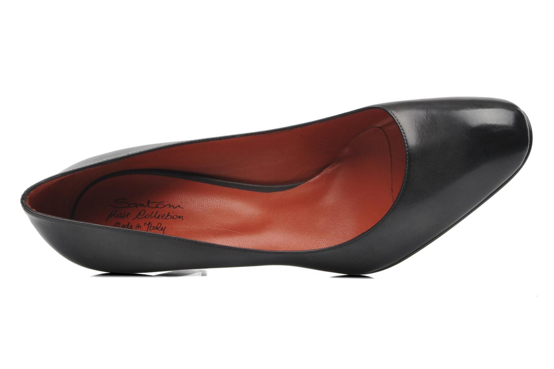 Bottines et boots Santoni Moss 53259 INVISIBLE MAUVAISE REF Noir vue gauche