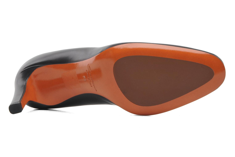 Bottines et boots Santoni Moss 53259 INVISIBLE MAUVAISE REF Noir vue haut