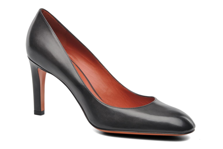 Boots en enkellaarsjes Santoni Moss 53259 INVISIBLE MAUVAISE REF Zwart detail