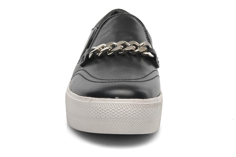 Baskets Ash Joe Noir vue portées chaussures