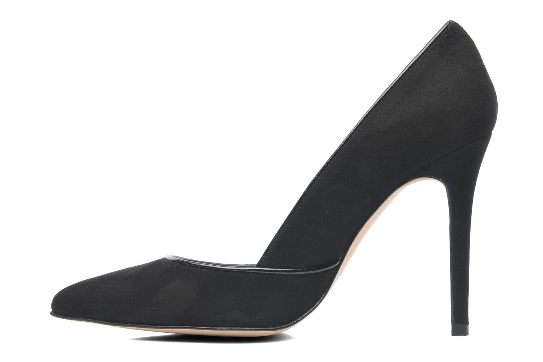 High heels Georgia Rose Fillotte Black front view