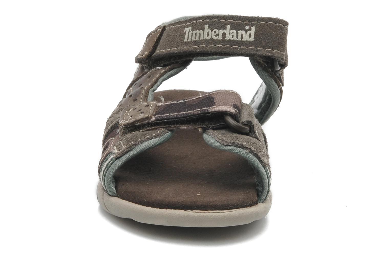 Sandales et nu-pieds Timberland CNTRVL EKLF2STRP Gris vue portées chaussures