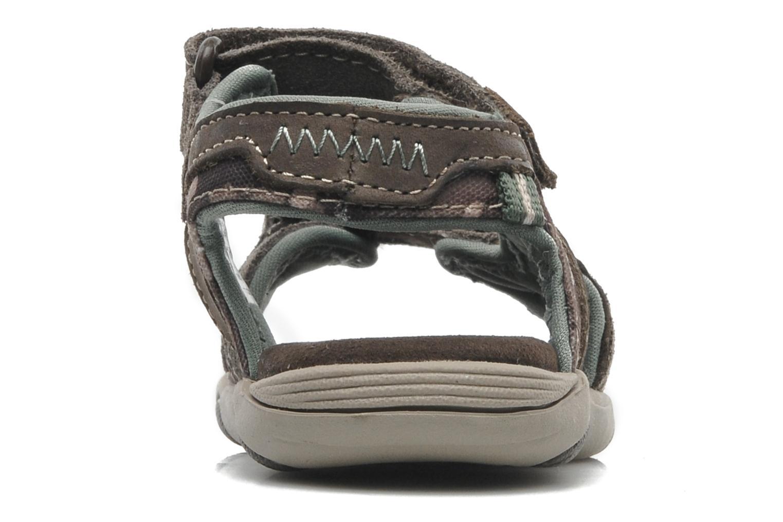 Sandales et nu-pieds Timberland CNTRVL EKLF2STRP Gris vue droite