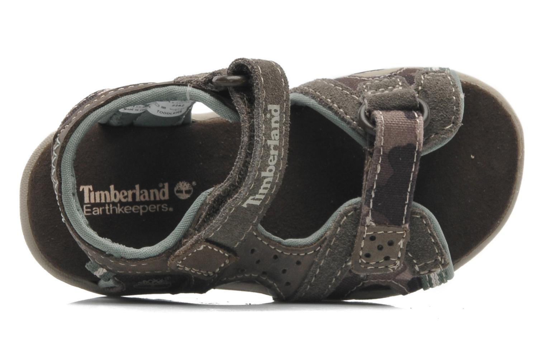 Sandales et nu-pieds Timberland CNTRVL EKLF2STRP Gris vue gauche