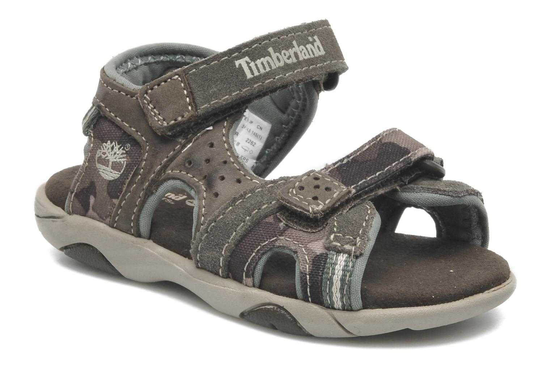 Sandales et nu-pieds Timberland CNTRVL EKLF2STRP Gris vue détail/paire