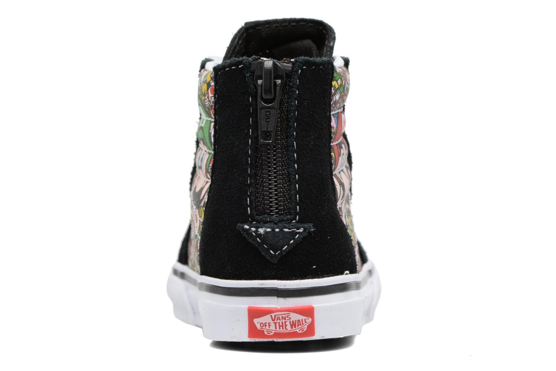 Sneakers Vans SK8-Hi Zip BB Zwart rechts