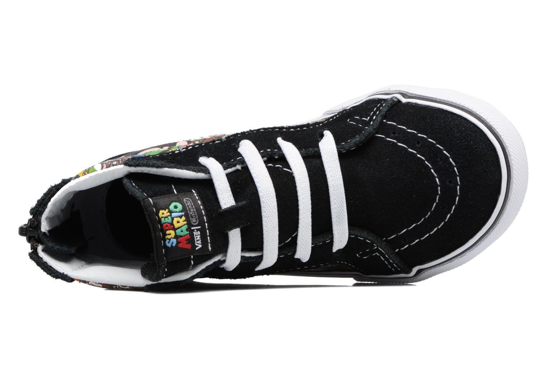 Baskets Vans SK8-Hi Zip BB Noir vue gauche