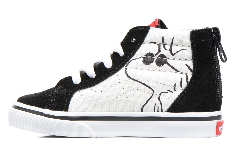 Sneaker Vans SK8-Hi Zip BB schwarz ansicht von vorne