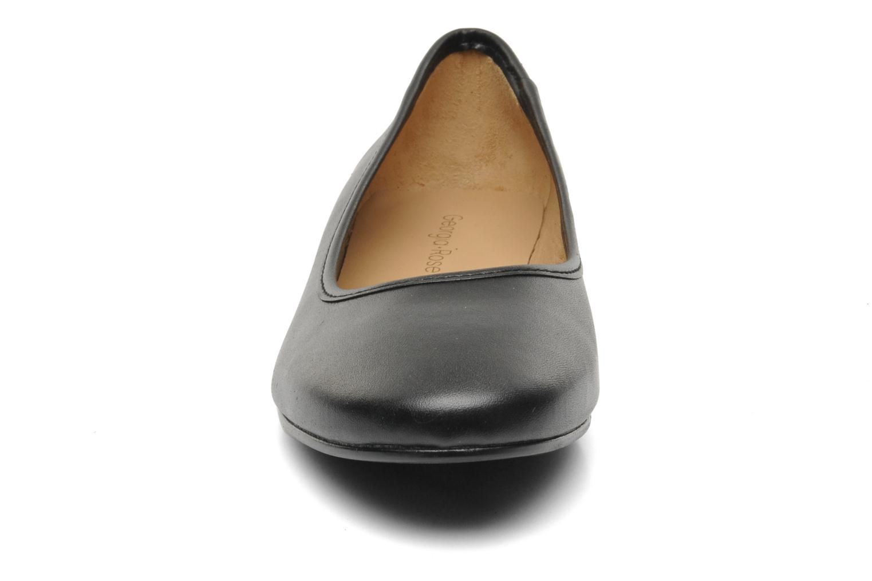 Ballerines Georgia Rose Zabou Noir vue portées chaussures