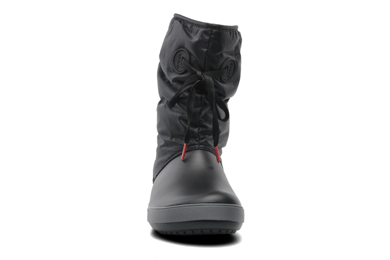 Stiefeletten & Boots Crocs Crocband II.5 Lace Boot W schwarz schuhe getragen