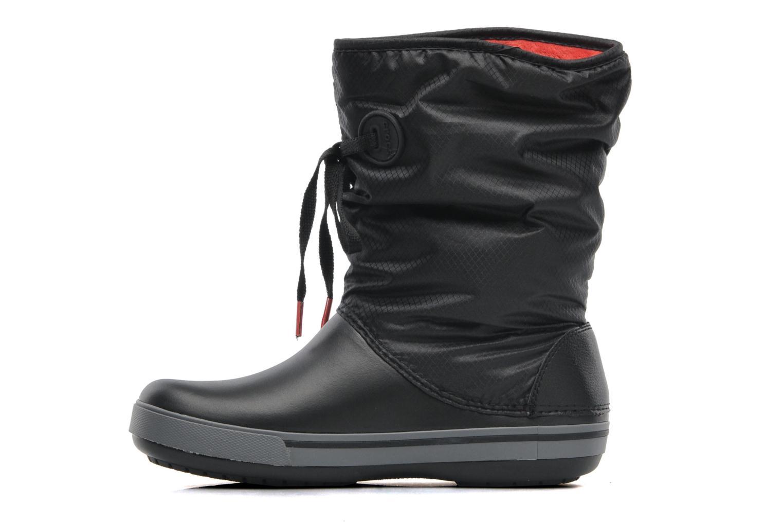 Boots en enkellaarsjes Crocs Crocband II.5 Lace Boot W Zwart voorkant