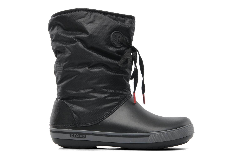Boots en enkellaarsjes Crocs Crocband II.5 Lace Boot W Zwart achterkant