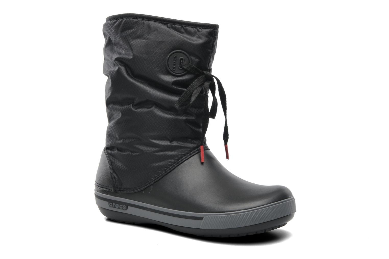 Boots en enkellaarsjes Crocs Crocband II.5 Lace Boot W Zwart detail