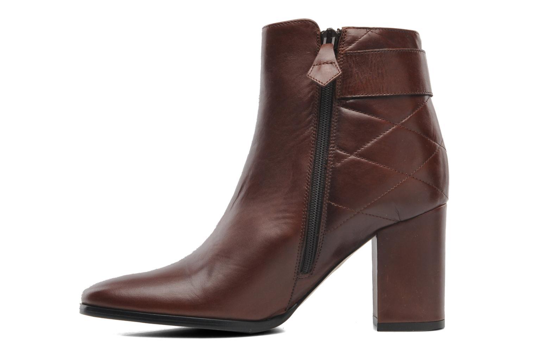 Bottines et boots Elizabeth Stuart Fakir 304 Marron vue face