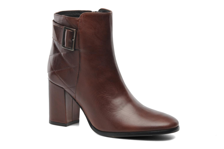Bottines et boots Elizabeth Stuart Fakir 304 Marron vue détail/paire