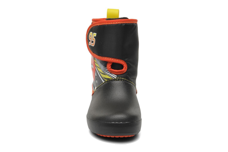 Stiefel Crocs CB Cars Gust Boot schwarz schuhe getragen