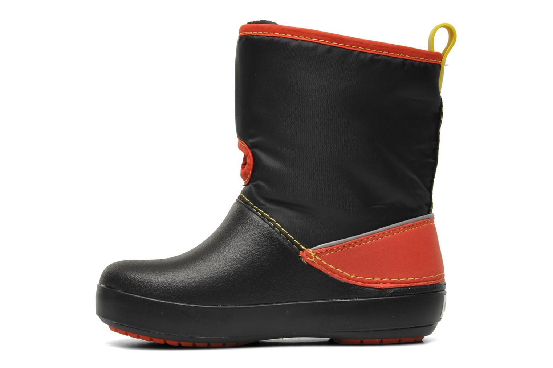 Stiefel Crocs CB Cars Gust Boot schwarz ansicht von vorne