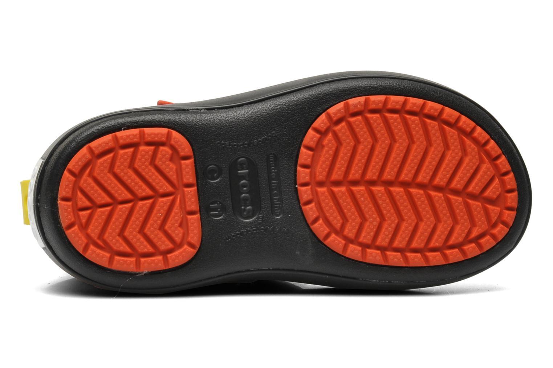 Bottes Crocs CB Cars Gust Boot Noir vue haut