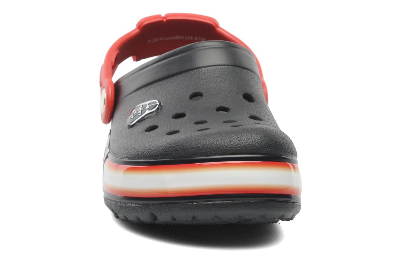 Sandales et nu-pieds Crocs CrocsLights Star Wars Vader Noir vue portées chaussures