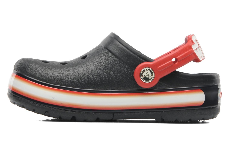 Sandales et nu-pieds Crocs CrocsLights Star Wars Vader Noir vue face