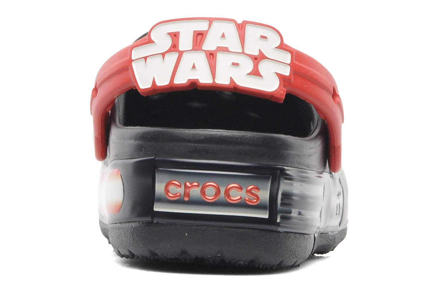 Sandals Crocs CrocsLights Star Wars Vader Black view from the right