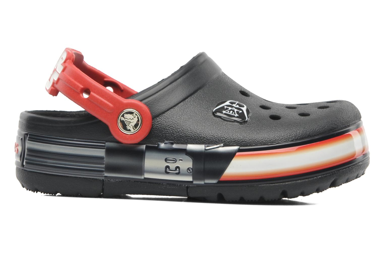 Sandales et nu-pieds Crocs CrocsLights Star Wars Vader Noir vue derrière