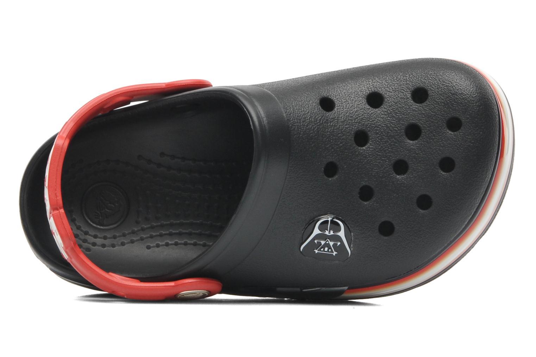 Sandales et nu-pieds Crocs CrocsLights Star Wars Vader Noir vue gauche