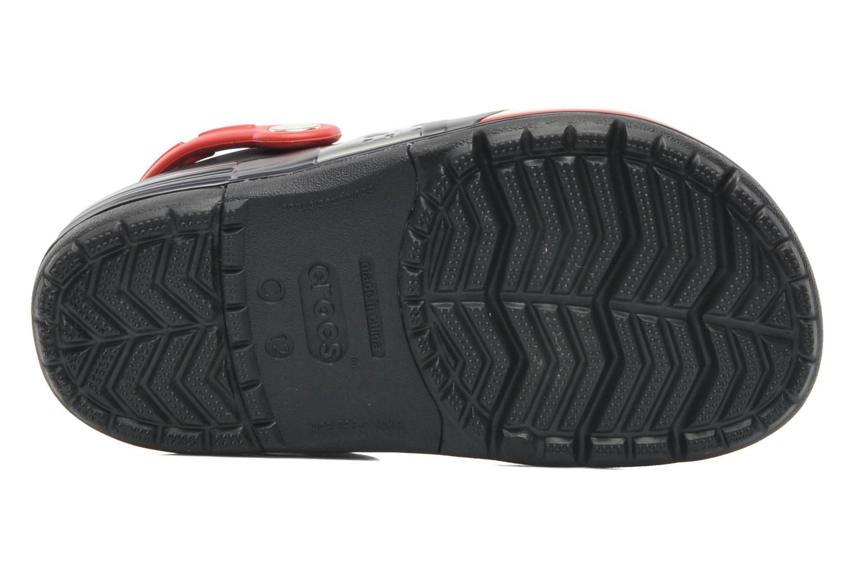 Sandals Crocs CrocsLights Star Wars Vader Black view from above