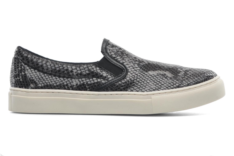 Sneakers Bronx Johnson Zwart achterkant