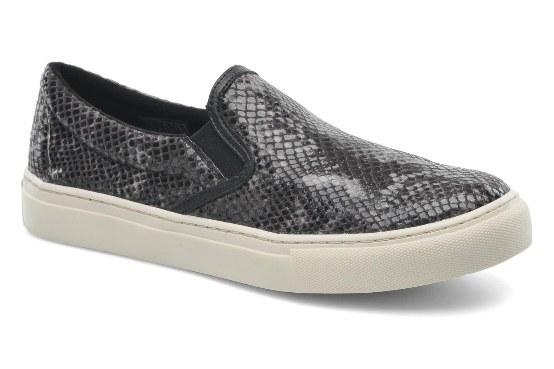 Sneakers Bronx Johnson Zwart detail