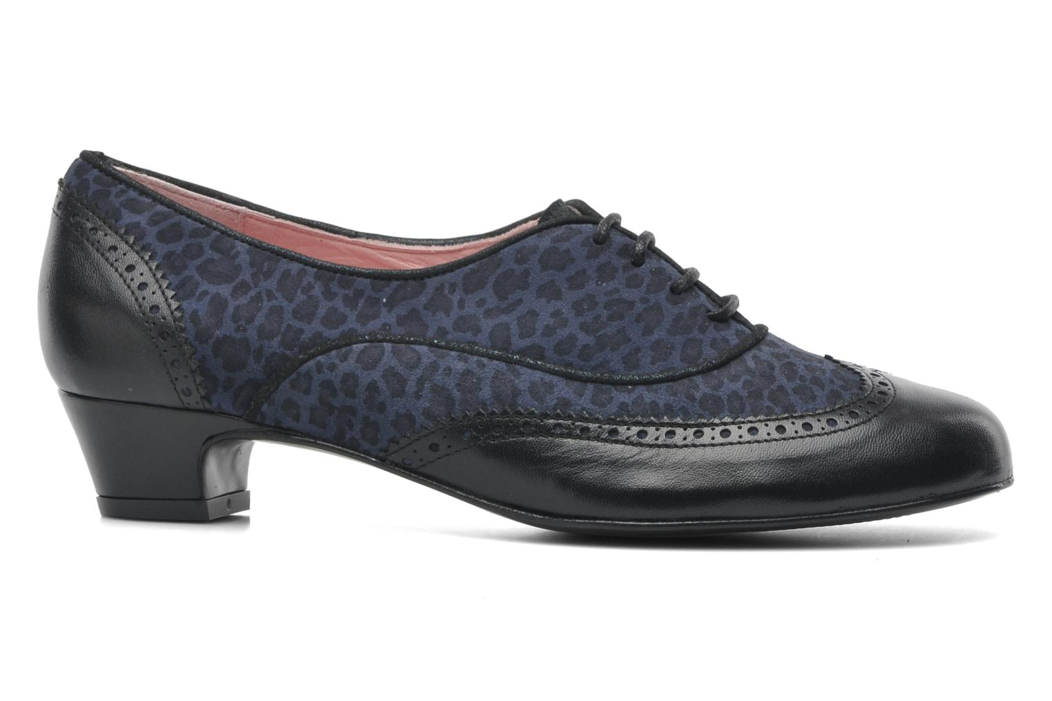 Lace-up shoes Annabel Winship Italiano Black back view