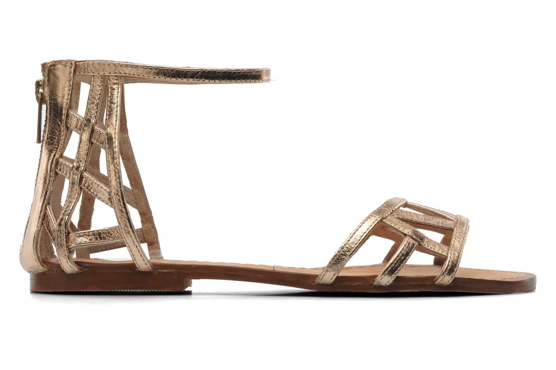 Sandales et nu-pieds Jonak Jessy Or et bronze vue derrière