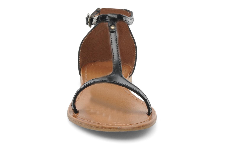 Sandales et nu-pieds Les Tropéziennes par M Belarbi Trefle Noir vue portées chaussures