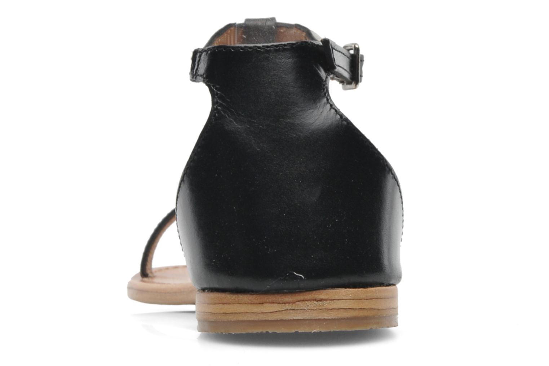 Sandalen Les Tropéziennes par M Belarbi Trefle schwarz ansicht von rechts