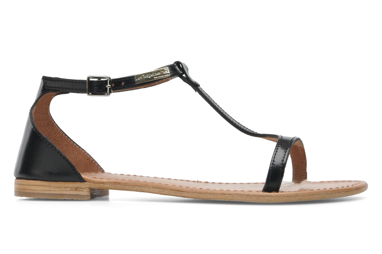 Sandalen Les Tropéziennes par M Belarbi Trefle schwarz ansicht von hinten