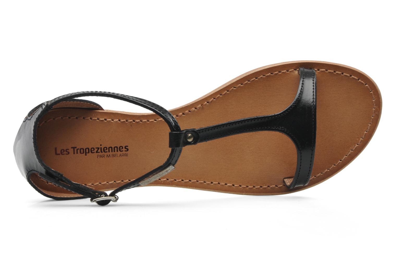 Sandales et nu-pieds Les Tropéziennes par M Belarbi Trefle Noir vue gauche