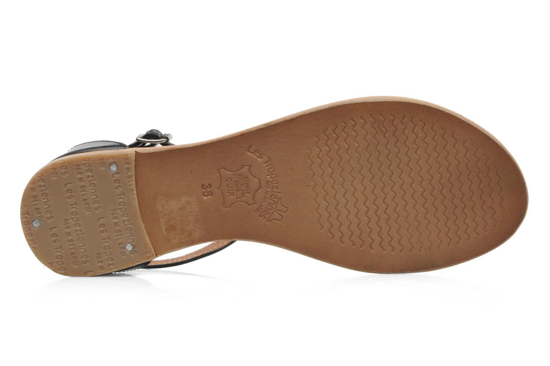 Sandales et nu-pieds Les Tropéziennes par M Belarbi Trefle Noir vue haut