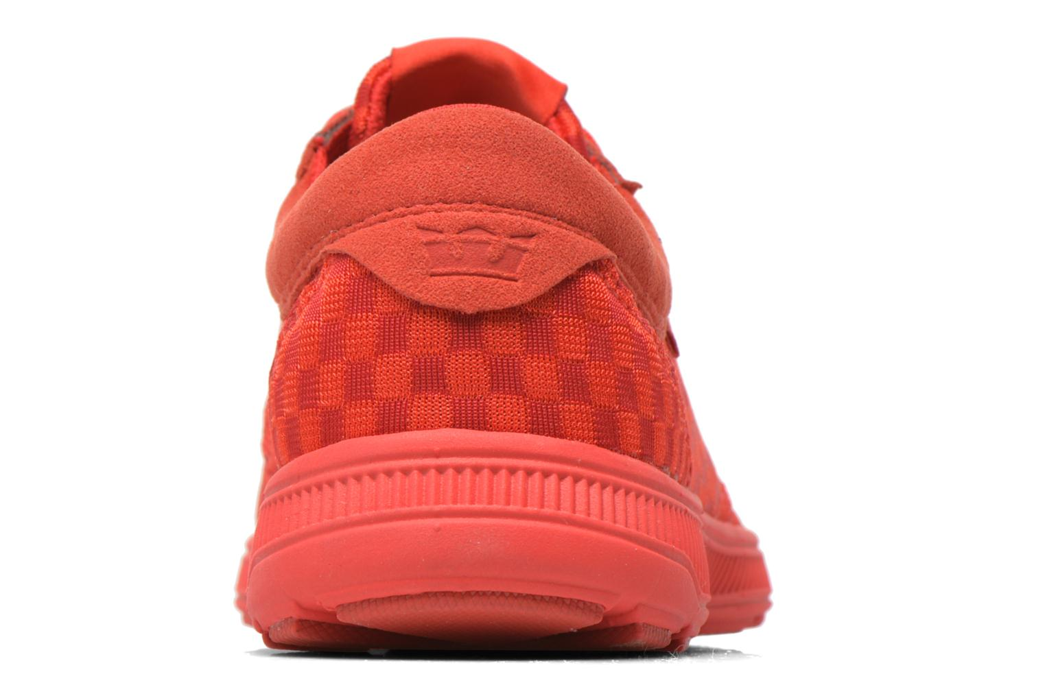 Trainers Supra Hammer Run Red view from the right