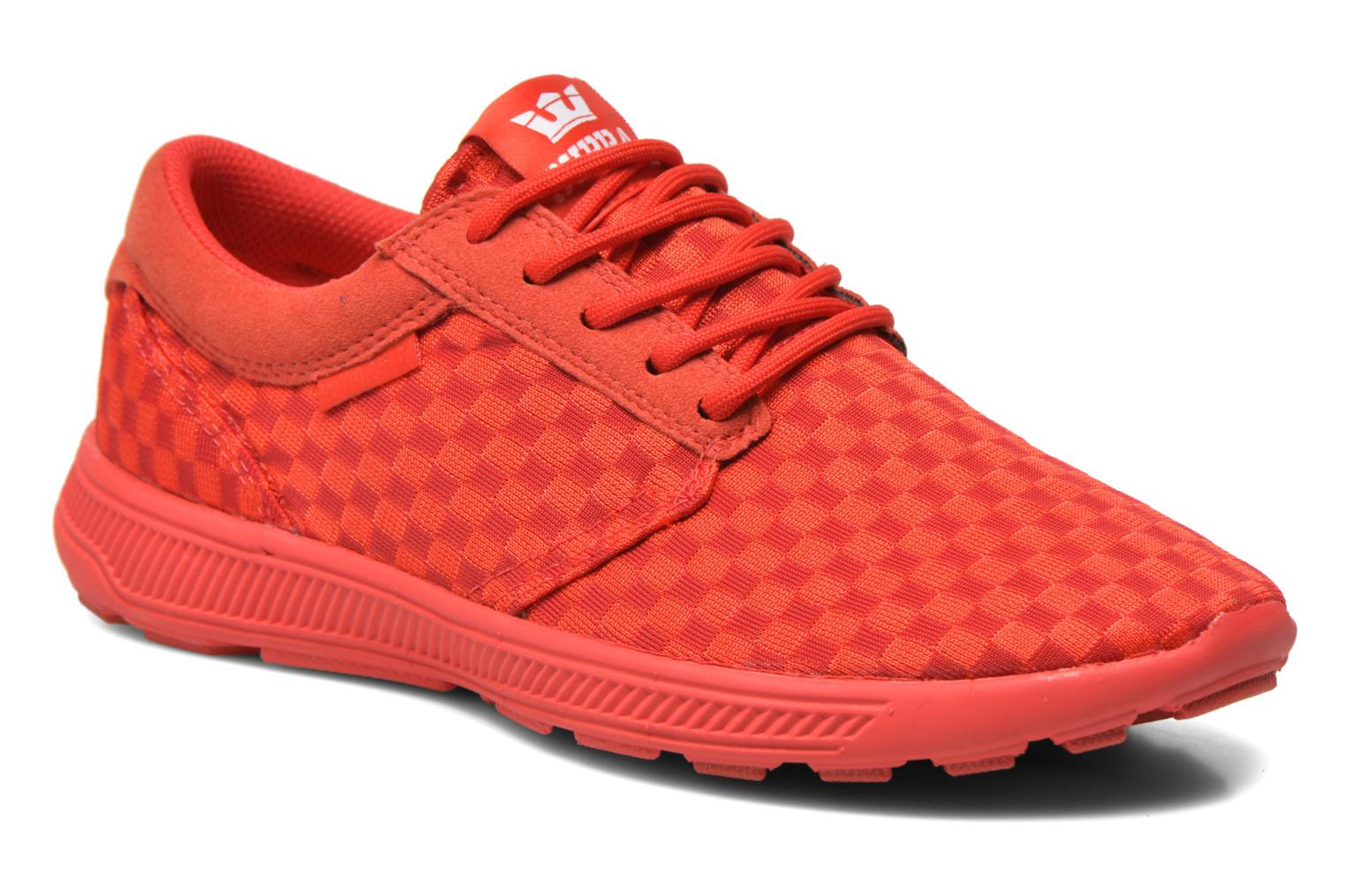 Trainers Supra Hammer Run Red detailed view/ Pair view