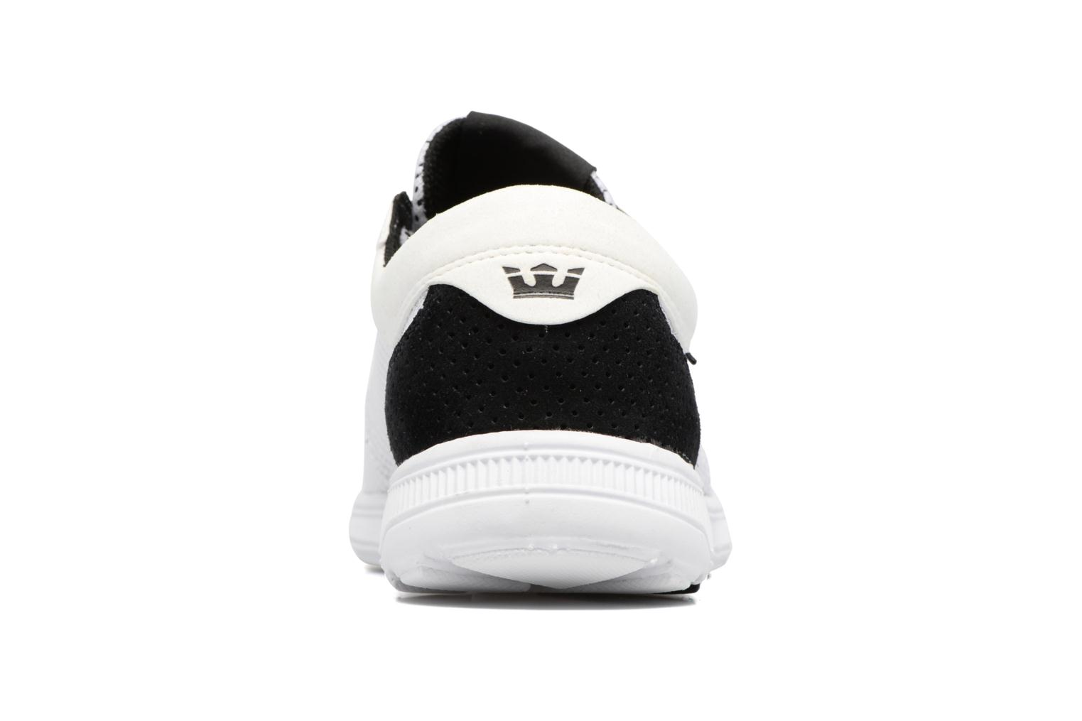 Trainers Supra Hammer Run White view from the right