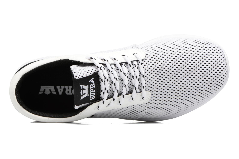 Sneaker Supra Hammer Run weiß ansicht von links