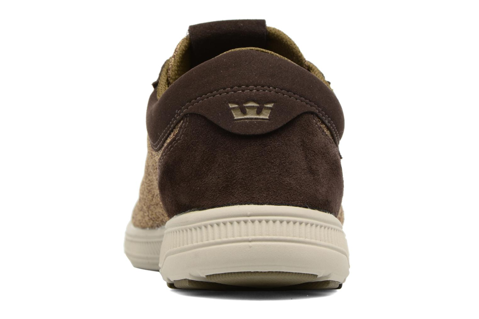 Trainers Supra Hammer Run Beige view from the right